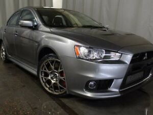 2015 Mitsubishi Lancer Evolution GSR AWD / Sunroof / Heated Fron