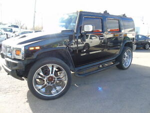2003 HUMMER H2 4x4 SUNROOF NAV LEATHER WE FIFNANCE!!
