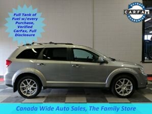 2016 Dodge Journey AWD, R/T, Leather, DVD, Heated Seats, Back Up Came