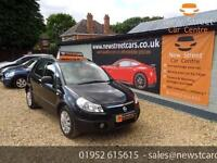 FIAT SEDICI 16V DYNAMIC, Black, Manual, Petrol, 2008