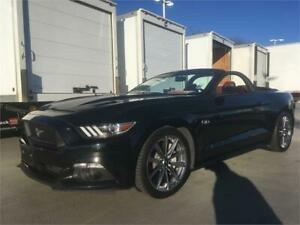 2015 FORD MUSTANG GT convertible PREMIUM model 6 speed
