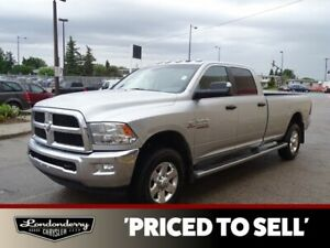 2015 Ram 3500 4WD CREWCAB SLT Diesel,  Accident Free,  Bluetooth