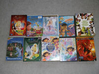 CD'S LOT OF 10 CHILDREN DVD'S ALL WORK GREAT