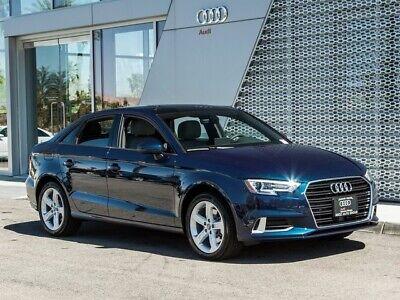 2018 Audi A3 2.0T Premium 2018 Audi A3 2.0T Premium 6-Speed Automatic S tronic 17290 Miles Cosmos Blue Met