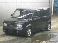 FRESH IMPORT LATE 2007 FACE LIFT NISSAN CUBE CUBIC 1.5 AUTOMATIC 7 SEATER MPV