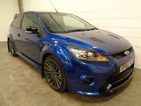FORD FOCUS RS , 2009/59 REG, 34000 MILES + FULL FORD HISTORY, YEARS MOT, MOUNTUNE, FINANCE, WARRANTY