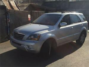 2007 Kia Sorento LX Luxury / 4X4-LEATHER-ROOF