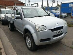 2010 Great Wall V240 K2 (4x4) Silver 5 Speed Manual Cab Chassis Granville Parramatta Area Preview