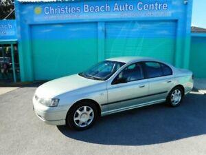 2003 Ford Falcon BA XT Greenish Gold 4 Speed Auto Seq Sportshift Sedan Christies Beach Morphett Vale Area Preview