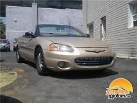 ** 2001 Chrysler Sebring Lxi | AUTOMATIQUE, CUIR, CABRIOLET