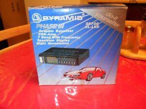 Pyramid spectrum analyzer graphic equalizer (pre-amp) $10