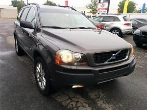 2005 Volvo XC90, AWD TURBO-7 PLASS, TOIT, CUIR, IMPECCABLE, 2.5L