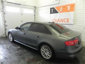 Audi A4 2015 S-Line, Cuir, Toit Ouvrant, Mags, Climatisation