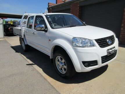 2014 Great Wall V200 K2 (4x4) White 6 Speed Manual Dual Cab Utility