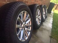 "Mitsubishi L200 Barbarian 17"" Alloy Wheels & Tyres (BrandNew) £575!!!"