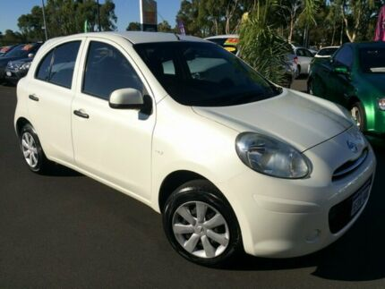 2011 Nissan Micra K13 ST White 5 Speed Manual Hatchback Bunbury Bunbury Area Preview