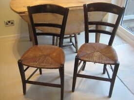 French Rustic Farmhouse Chairs