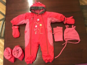 Snowsuit one piece cute and warm