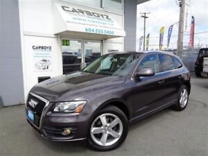 2011 Audi Q5 Premium 3.2L V6, AWD, Pano Roof, Leather, New Tire