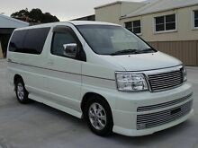2001 Nissan Elgrand E50 Rider 4WD White 4 Speed Automatic Wagon Taren Point Sutherland Area Preview