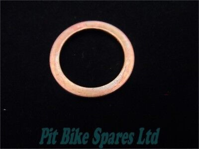 Copper Exhaust Gasket For Pit Bike, Monkey Bike, Honda C90, Fits 50cc to 160cc