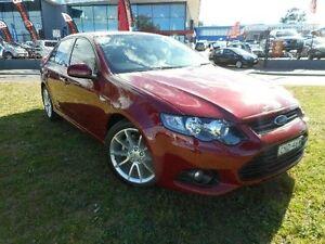 2013 Ford Falcon FG MK2 XR6 Red 6 Speed Auto Seq Sportshift Sedan Greenway Tuggeranong Preview
