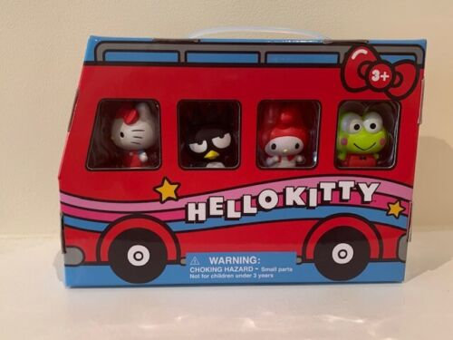 NEW Universal Studios Sanrio Hello Kitty and Friends Bus Play Set