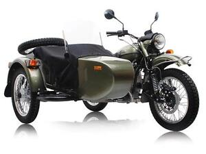 2016 URAL PATROL WITH SIDECAR