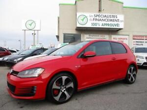 2015 Volkswagen Golf GTI De performance !!! manuel rouge !!!