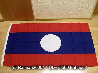 Fahnen Flagge Laos - 90 x 150 cm