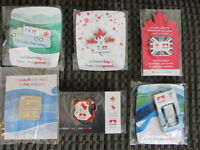 Six Olympic & Paralympic Games Pins  2008  & 2012     Ph.(705)94