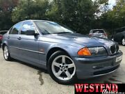 2001 BMW 320i E46 MY2001 Blue 5 Speed Automatic Sedan Lisarow Gosford Area Preview