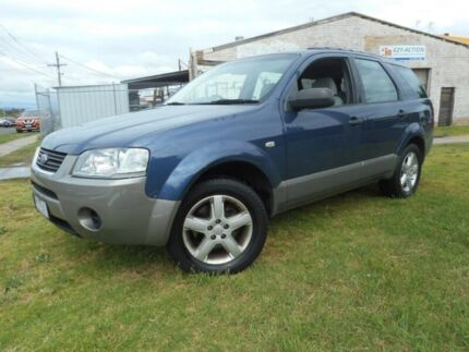 2008 Ford Territory Blue Sports Automatic Wagon Moorabbin Kingston Area Preview