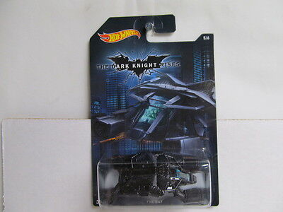 Hot Wheels NEW 2015 Walmart Batman Series - The Dark Knight Rises - The Bat