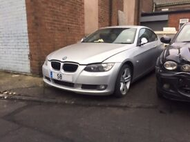 BMW 320D SE COUPE 2008 BREAKING FOR SPARES