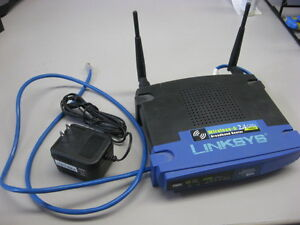 Linksys wireless-G 2.4ghz Router.