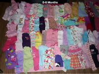 0-6 Month Girl Clothing