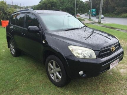 2006 Toyota RAV4 ACA33R Cruiser Black 4 Speed Automatic Wagon Burleigh Waters Gold Coast South Preview