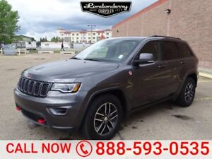 2017 Jeep Grand Cherokee 4WD TRAILHAWK Navigation (GPS),  Leathe