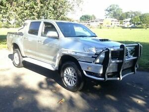 2013 Toyota Hilux KUN26R MY12 SR5 Double Cab Gold Manual Utility Greenslopes Brisbane South West Preview