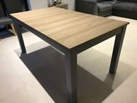 Malvern Grey Dining Table Seats 6-10 (cost £385)