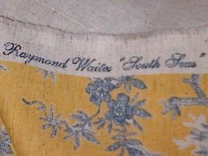 Raymond Waites South Seas China Pattern 60' fabric by Mill Creek