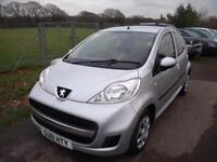 PEUGEOT 107 URBAN, Silver, Manual, Petrol, 2011