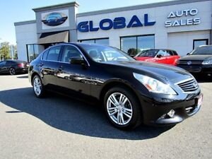 2013 Infiniti G37X AWD LUXURY , NAVIGATION , REVERSE CAMERA.