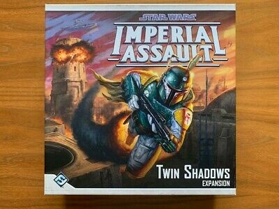 Imperial Assault - Twin Shadows map tiles, box, Manual & Feldherr insert - Used