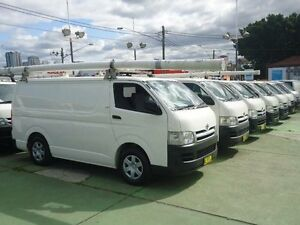 2006 Toyota Hiace KDH200R LWB White 5 Speed Manual Van Canada Bay Canada Bay Area Preview
