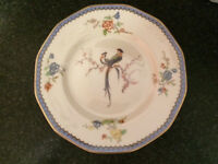 """Theodore Haviland Limoges """"PARADISE"""" Bread & Butter Plates (6)"""