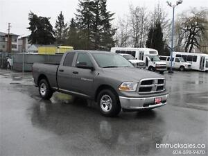 2012 DODGE RAM 1500 ST QUAD CAB SHORT BOX 4X4