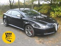 2009 58-reg Alfa Romeo GT 1.9 JTDm Cloverleaf Coupe, cambelt and water pump replaced sept this year!