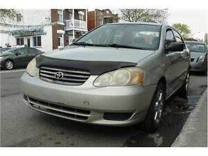 2003 Toyota Corolla, TT EQUIPEE, AC, MAGS, PROPRE